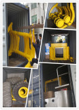 log wheel loader loading