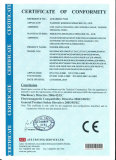 CE certification of power sprayer