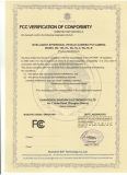 Intelligent IR Vehicle PTZ Camera FCC Certificate