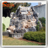 Artificial Rockery Garden Stone Resin Water Fountain