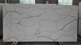 Calacatta 5138 quartz stone slab