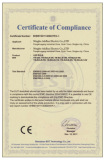CE Certificate for LED Light