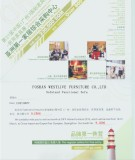 Invitation from Sofaland to the 31th CIFF GZ Furniture Fair.