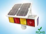 Solar Powered LED Traffic Warning Light