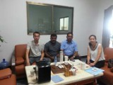 India Pro visit our factory for tea cup hidden packing machine