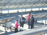 Customer from Changle County visited Lucy New Energy Technology Company