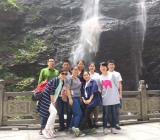 Our sales team trip to Lushan