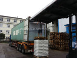 Loading the PC hollow sheets into 40HQ container on May 28