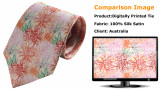 Customer Digital printing Ties