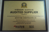 Audited supplier by made-in-china in 2013
