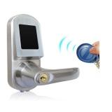 MIFARE Card Smart Door Lock Zinc Alloy Access Control