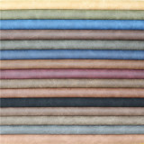 Matte Frosted PU Faux Leather for Footwear Material