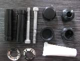 Guide pin and bolt repair kit for brake caliper