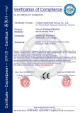 CE Certification for Vacuum Packaging Machine