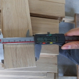 inspect width of Wood Flooring