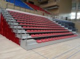 PROJECT OF RETRACTABLE SEATS GRANDSTAND SYSTEM