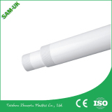 Plastic threaded pipe