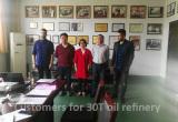 30T coconut oil refinery machine
