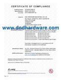 UL Listed, 3 hours fire-rated Door Hardware-D&D hardware