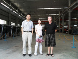 Australia customer visiting factory