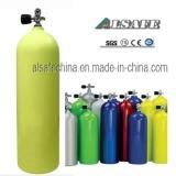 Aluminium SCUBA diving air tank