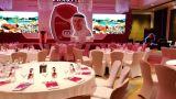 Dubai Hotel led display screen for celebarte display