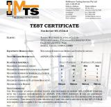 Wellmade Scaffold Modular system Tested and Certificated in MTS on safety construction material