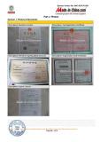 Certificate show