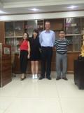 Austtralia customer visit factorty