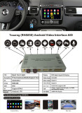 Car Andrews Navigation Interface for Volkswagen Touareg(RNS850)