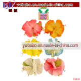 Hawaiian Hibiscus Hair Clip Luau Tropical Garland Hen Party