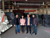 Indonesia partner Mr Ye purchased Mn ore mobile crushing and screening plant