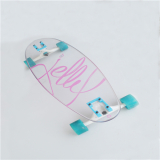 Custom 12mm thick polycarbonate skateboard