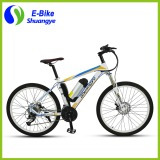 "Newest 26"" imitation carbon fiber heterotype electric mountain bike"