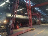 rolling and welding line