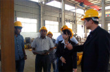 Customer visit our Company