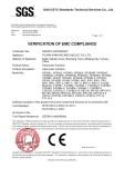 SGS EMC certificate
