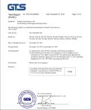 REACH(SVHC) Certificate