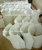 Blendly acrylic solid surface