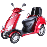4 wheel electric scooter with luxury chair