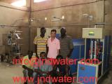 2000BPH bottled vinegar line and granule packer ,liquid packer in Senegal