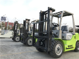 Forklifts to Ecuador