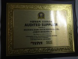 Autied supplier Certificate of Made in China