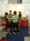 Business talk with customers from Vietnam
