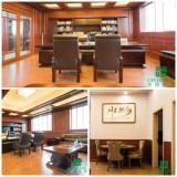 China Red Design office showroom of CREATEKING PVC WALL PANEL