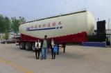 cement trailer customer visiting