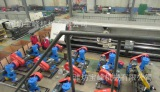 Horizontal driven device ready for shipment
