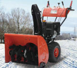 375cc general style snow blower