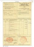 FORM E certification