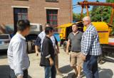 Customer Visting Pully Workshop